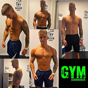 Resultaten bodybuilding training en begeleiding.